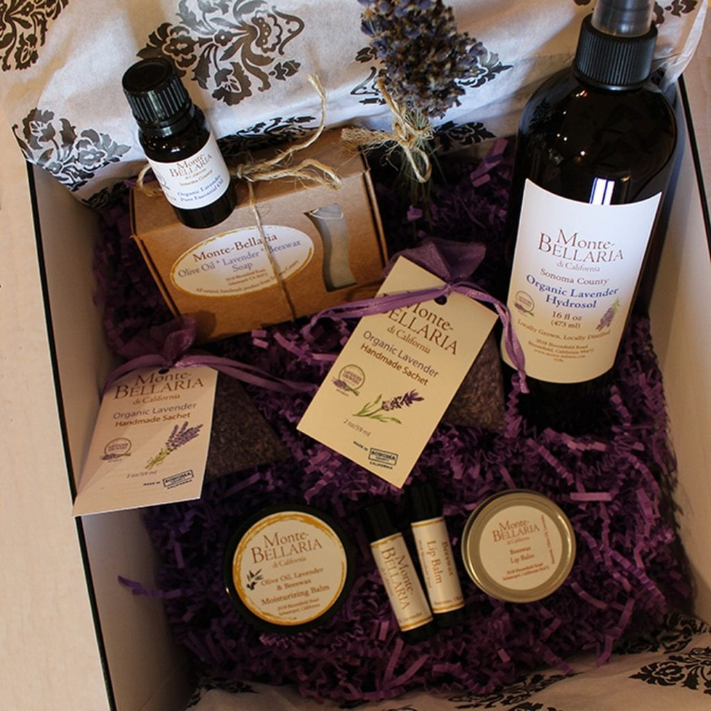 Monte-Bellaria Lavender Indulgent Gift Collection