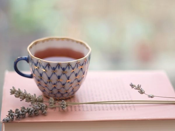 Lavender Tea with Grosso