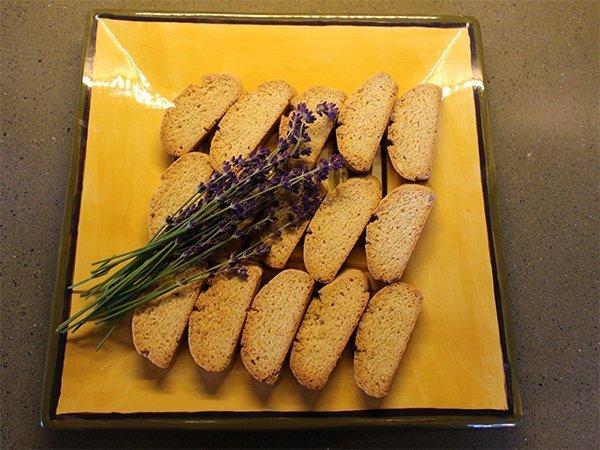 Monte-Bellaria Lavender Biscotti